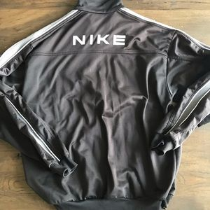 Vintage 90's Nike Full Spell Out Fleece Lined